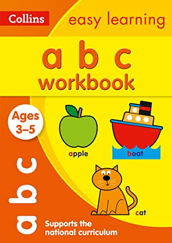 ABC Workbook Ages 3-5: Collins Easy Learning (Collins Easy Learning Preschool)