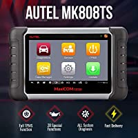 Autel MaxiCOM MK808TS TPMS Programming Tool Scanner with Full TPMS Service All Systems Diagnoses Multiple Reset Services…