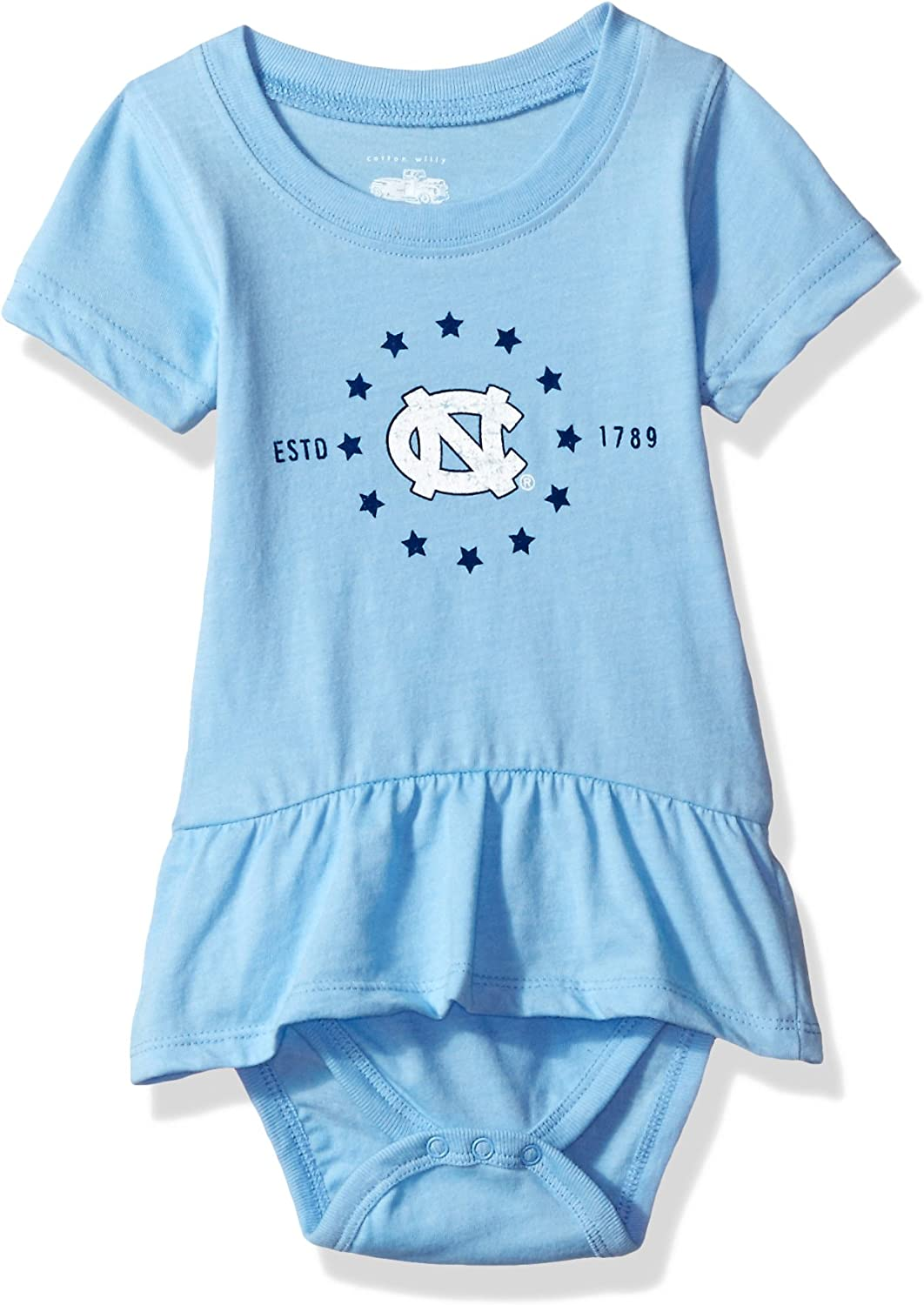 Cotton Willy NCAA Girls Short Sleeve Ruffle Hopper