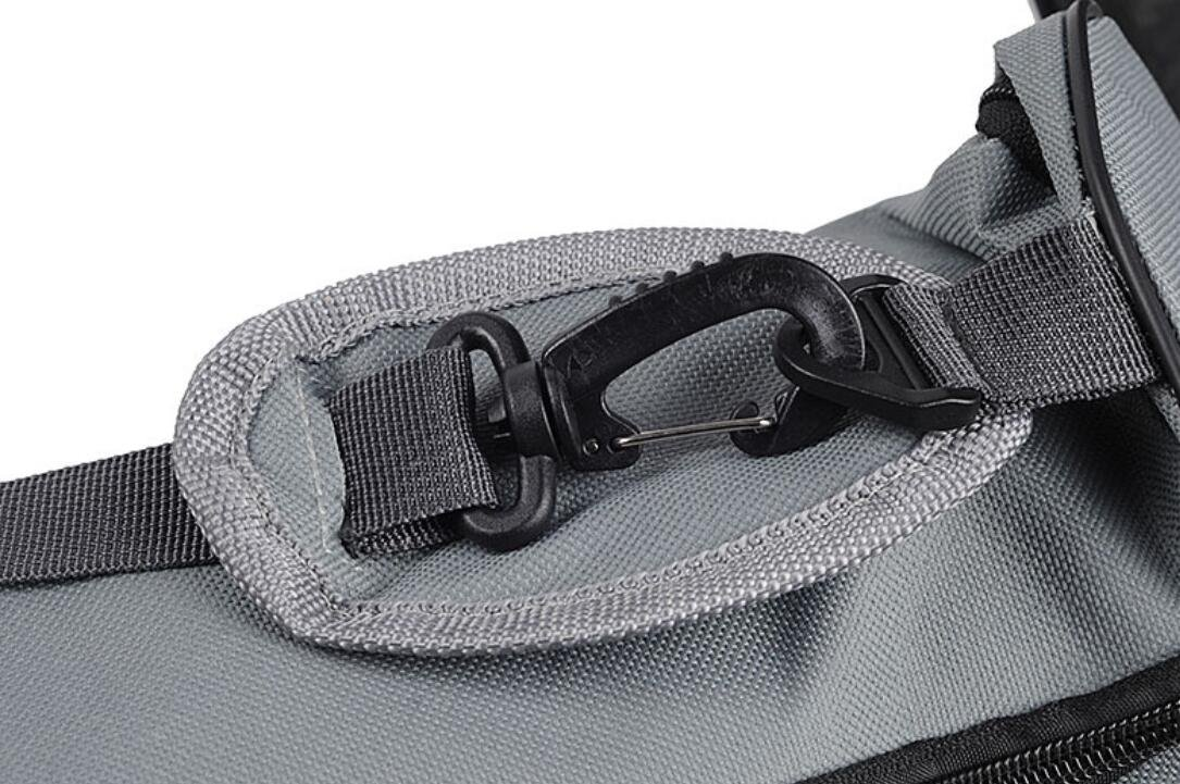 ANIAC Yoga Exercise Mat Sling Bag Full Zip Closure Waterproof Storage Pouch with Removable Shoulder Strap for 26 Mat
