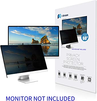 Renewed Basics Privacy Screen for 20 Inch 16:9 Widescreen Monitor