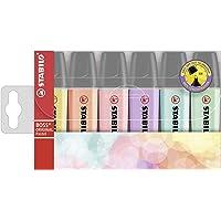 STABILO SW70-6-2 Boss Highlighter Pastel Wallet 6