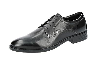 Geox U824WA Gladwin Eleganter Herren Business Schuh aus Leder, Anzugschuh,  Schnürhalbschuh, Derbyschnürung, 3721ff4599