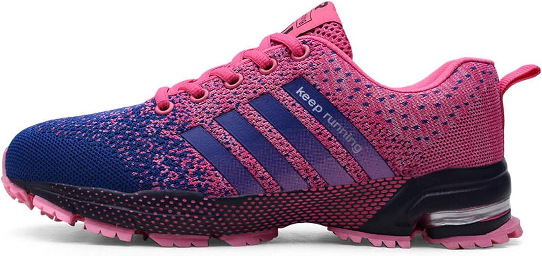 HCHBE& - Zapatillas Deportivas para Hombre, Transpirables, Talla Grande, Morado (Púrpura), 44 EU: Amazon.es: Zapatos y complementos
