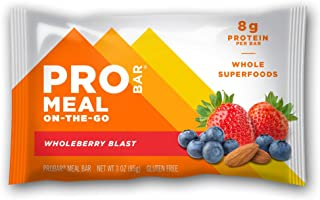 product image for PROBAR - Meal Bar, Wholeberry Blast, Non-GMO, Gluten-Free, Healthy, Plant-Based Whole Food Ingredients, Natural Energy (6 Count)