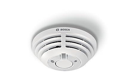 Bosch Smart Home - Detector de Humo con Aplicación de Funcionamiento, Versión para Alemania,