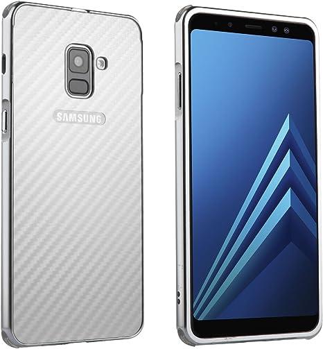 Txinli Metal Marco Parachoques Case Samsung Galaxy A8 Plus(2018 ...