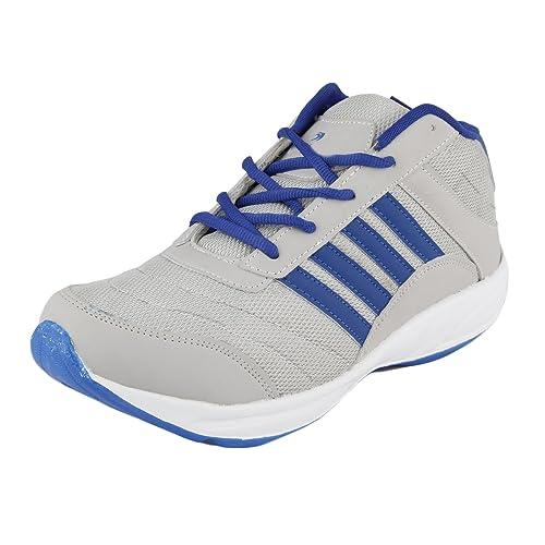 fcbd7808cd42 Xeroto Redon Grey Gym Cricket Walking Training Sports Running Shoes ...