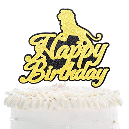 Pleasing Cartoon Lion Simba Happy Birthday Cake Topper Disney The Lion Funny Birthday Cards Online Barepcheapnameinfo