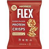 PopCorners FLEX烧烤蛋白质薯片,不含麸质,10克蛋白质,141.5克袋装(每包12袋)