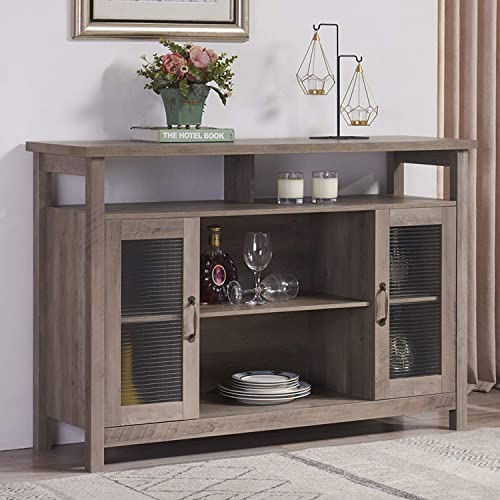 Mixcept Retro Style Sideboard Buffet Table