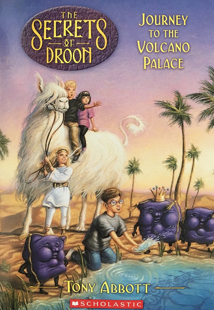 Journey to the volcano palace image cover