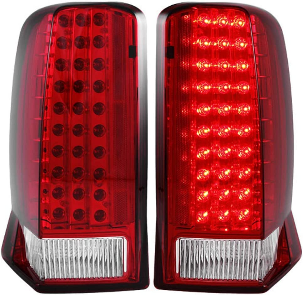 Sold in Pairs Anzo USA 321006 BMW Red//Clear LED Tail Light Assembly