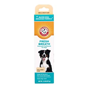 Arm & Hammer Fresh Breath Dental Solutions for Dogs | Dog Toothpaste, Toothbrush, Water Additive & Dental Sprays | Best Dog Breath Freshener