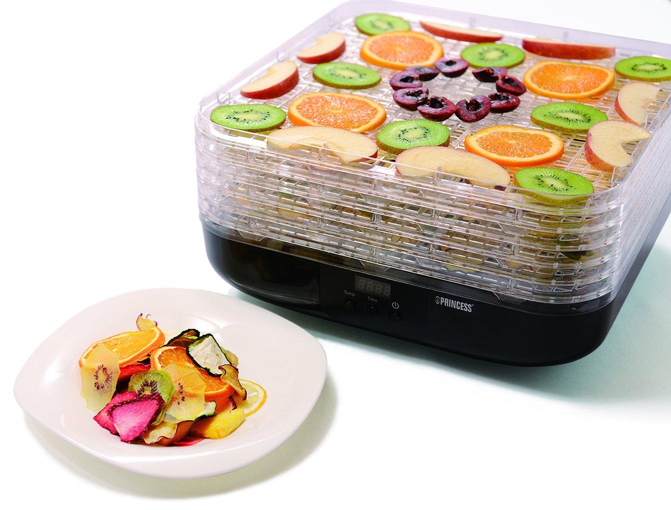 [プリンセス]PRINCESS【Food Dryer】 フードドライヤー デジタル タイマー/温度調節機能/レシピ 付き/ドライフードメーカー
