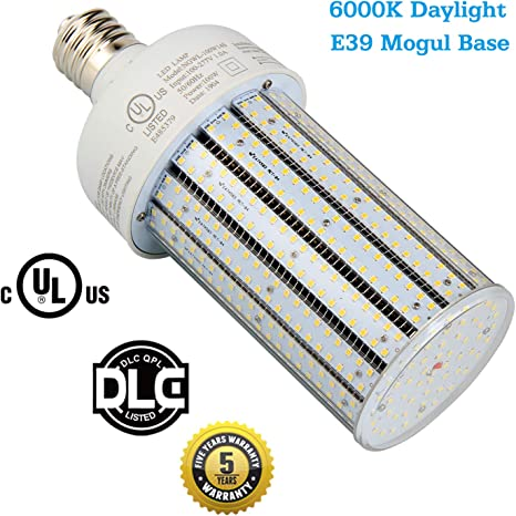 450 Watt Metal Halide Led Replacement Bulb 100 Watt Led Corn Lights E39 Mogul Base Corn