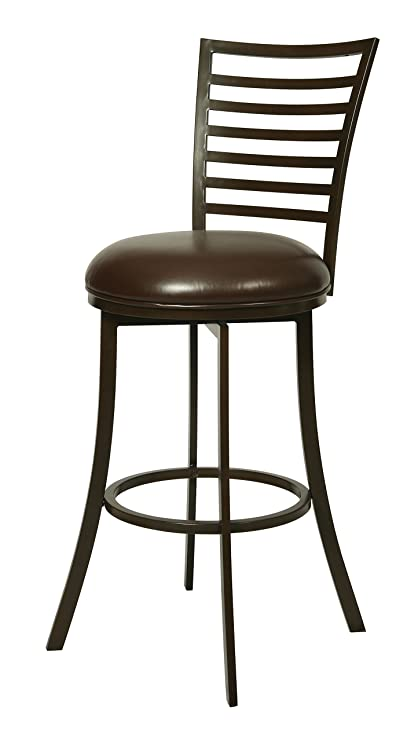 Impacterra Pastel Furniture Yorkshire Swivel Barstool, 26u0026quot;, ...