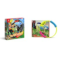 Ring Fit Game + Child Sized Ring Con Controller & Leg Strap