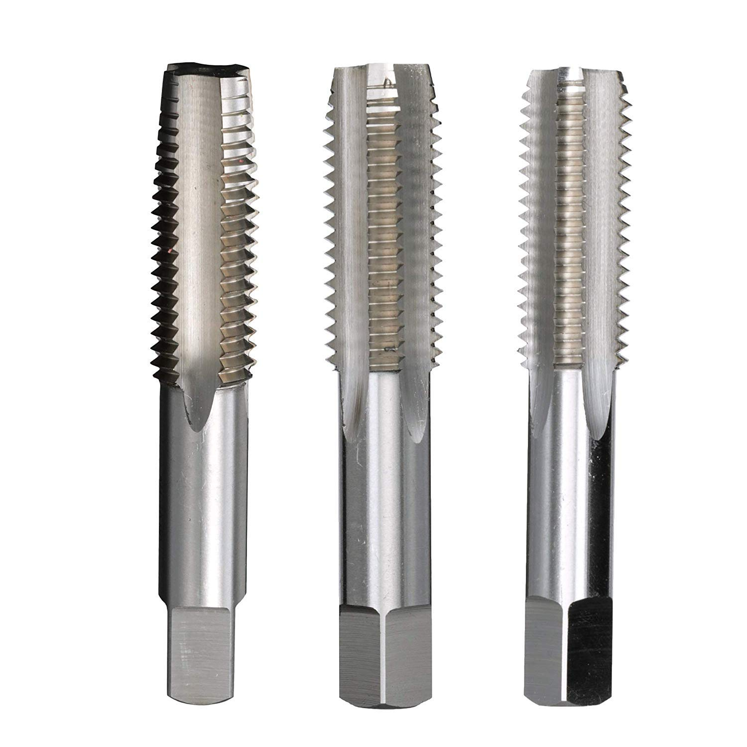 Drill America 1-72 High Speed Steel Tap Set, T/A Series by Drill America