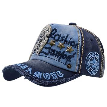Gorra de Béisbol con Algodón - iParaAiluRy Unisex Sombrero para Hombre y  Mujere - al Aire 05feb0429f5