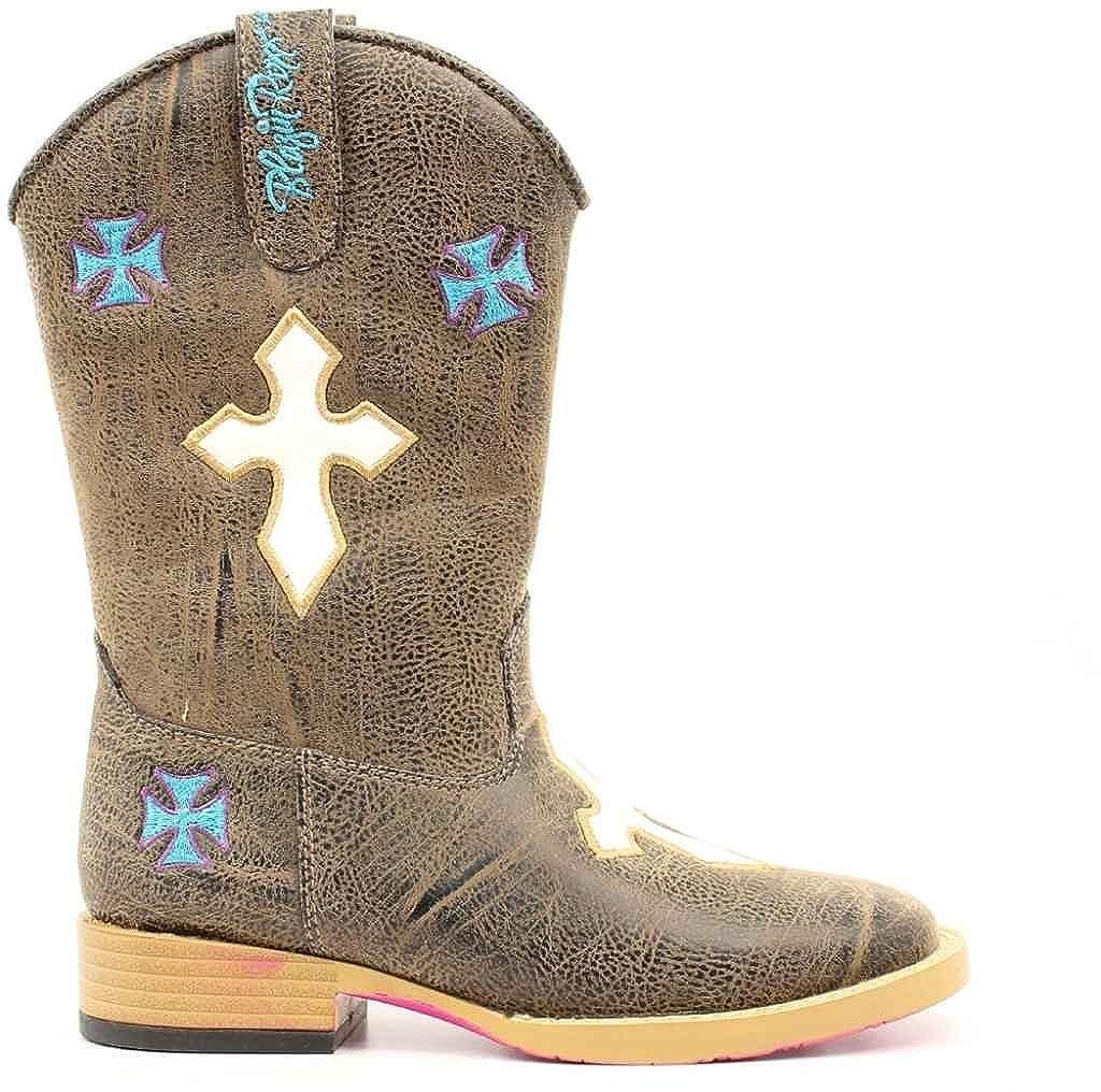 Blazin Roxx Girls Sierra Cowgirl Boot Square Toe 4470802Y