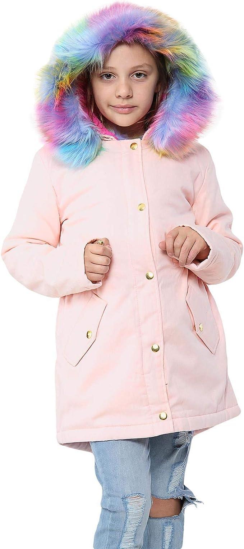 Girls Faux Fur Cardigan Age 6