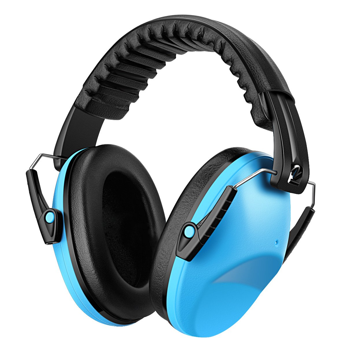 KeeKit Kids Ear Protection Safety Ear Muffs, NRR 26dB Noise Reduction Hearing Protection for Kids, Soft & Adjustable Ear Protection for Shooting Hunting Season for Kids, Toddlers, Teenagers