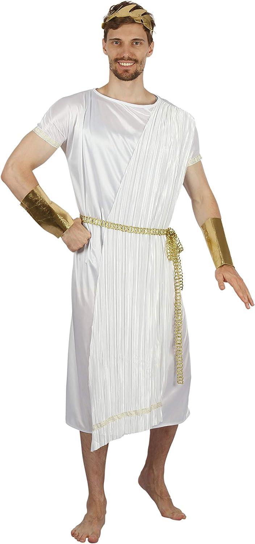 Bristol Novelty AF088 - Disfraz de Dios griego para hombre, talla ...