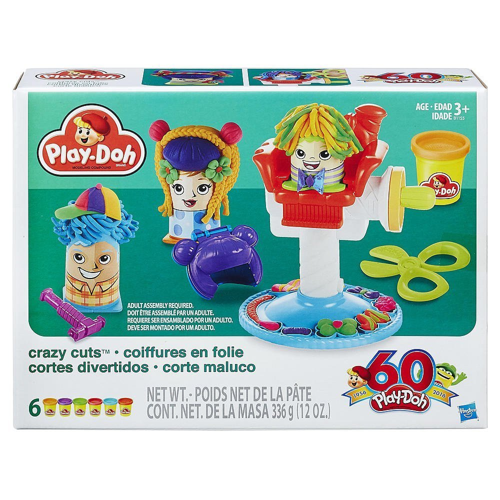 Amazon Play Doh Crazy Cuts 60th Anniversary Retro Pack Toys