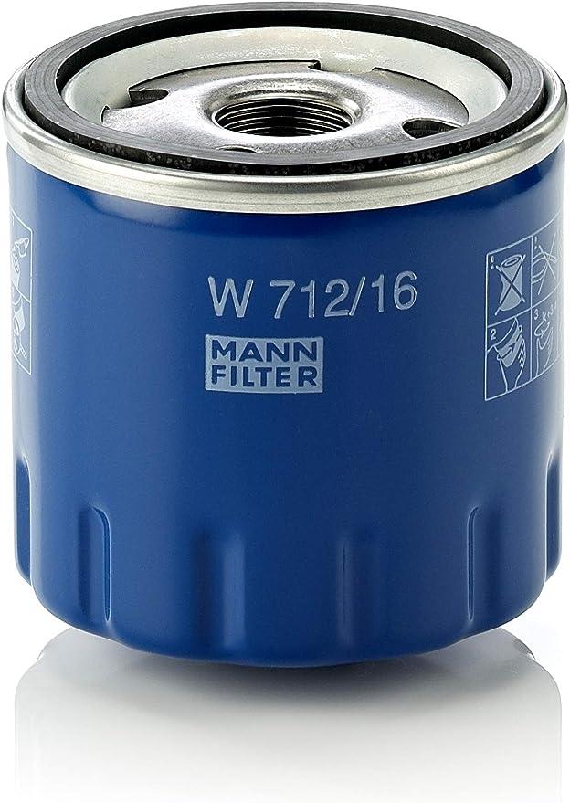 Original Mann Filter Ölfilter W 712 16 Für Pkw Auto