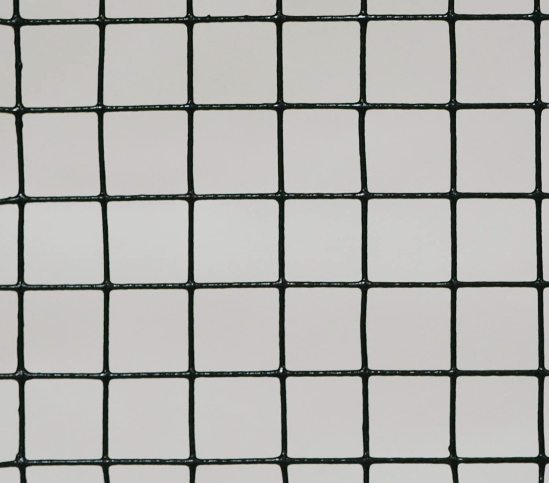 PROFISHOP-BREMEN Volierendraht SCHWARZ beschichtet Drahtgitter Drahtgeflecht Zaun Maschendrahtzaun Kaninchenzaun Hasendraht verzinkt und beschichtet