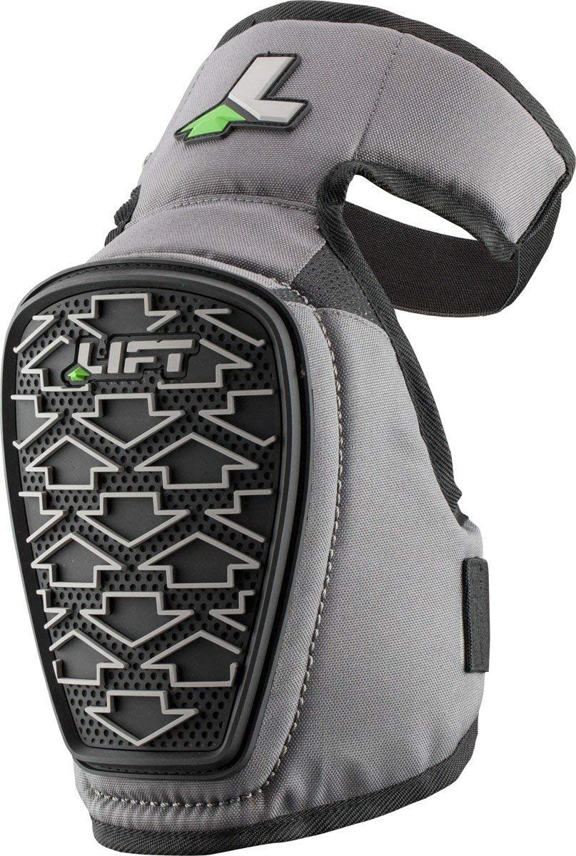 Black, One Size LIFT Safety Pivotal-2 Knee Guard