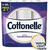 Cottonelle Ultra ComfortCare Toilet Paper, Soft Bath Tissue, 24 Mega Rolls