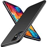TORRAS Ultra Thin Slim iPhone 11 Case [Matte Finish] [Anti-Scratch] Full Body Minimal Protective Hard Black Phone Cover Cases