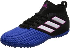 adidas Unisex Kid's Ace 17.3 Turf Fitness Shoes, BlueWhite