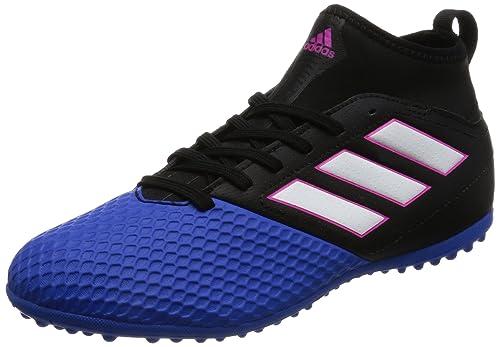 4654bc50fe54 Amazon.com: adidas Ace 17.3 Primemesh Turf Football Boots - Youth - Core  Black/Footwear White/Blue - UK Kids Shoe Size 1: Sports & Outdoors