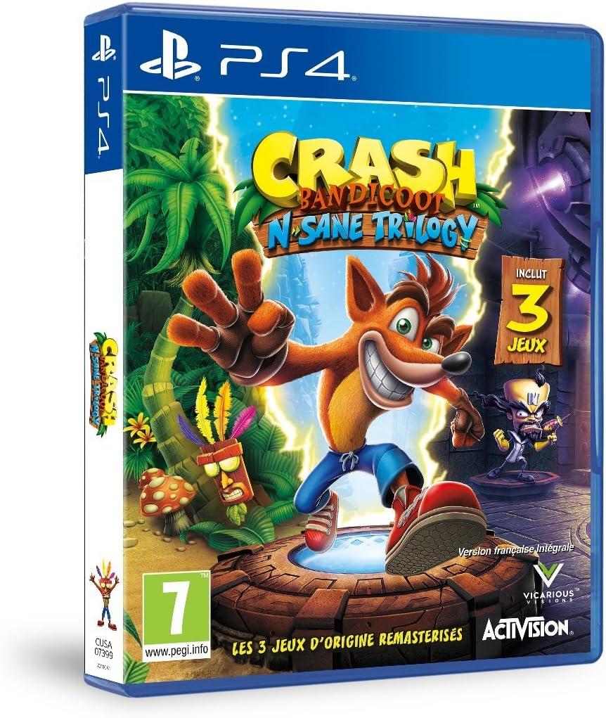 Crash Bandicoot N.sane trilogy [Importación francesa]: Amazon.es ...