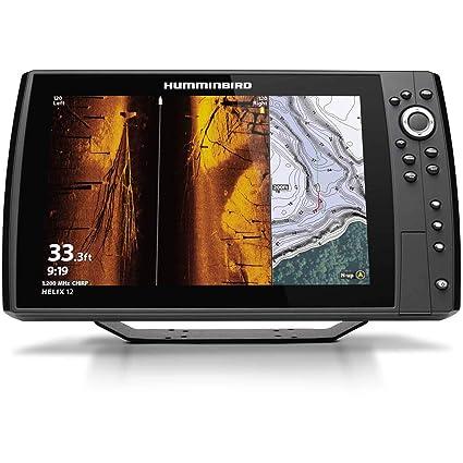 Humminbird Helix 12 Chirp MSI GPS G3N Fishing Chart