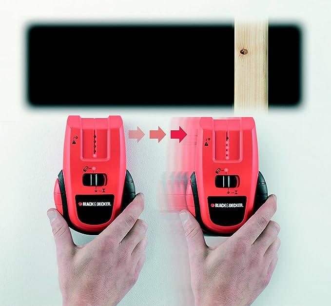 Black+Decker BDHT0-77141 - Detector de estructuras y de cables vivos: Amazon.es: Bricolaje y herramientas