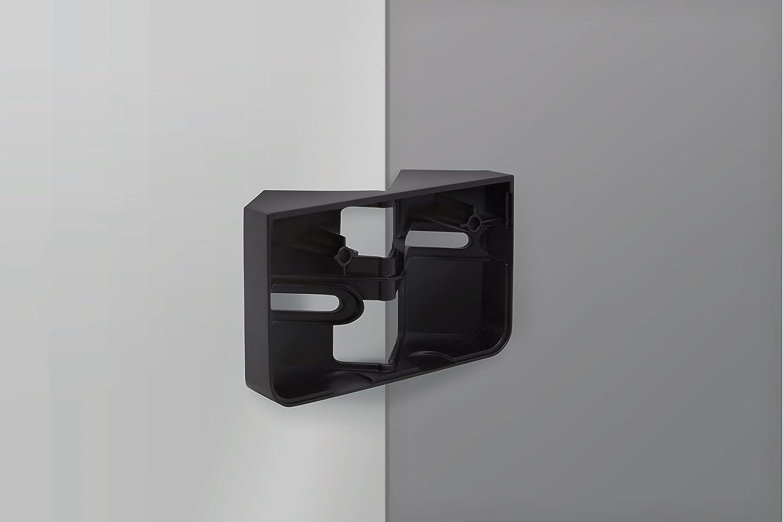 und Au/ßenecke Steinel Eckwandhalter f/ür LED-Strahler XLED home 2 schwarz Zubeh/ör zur Befestigung an Innen