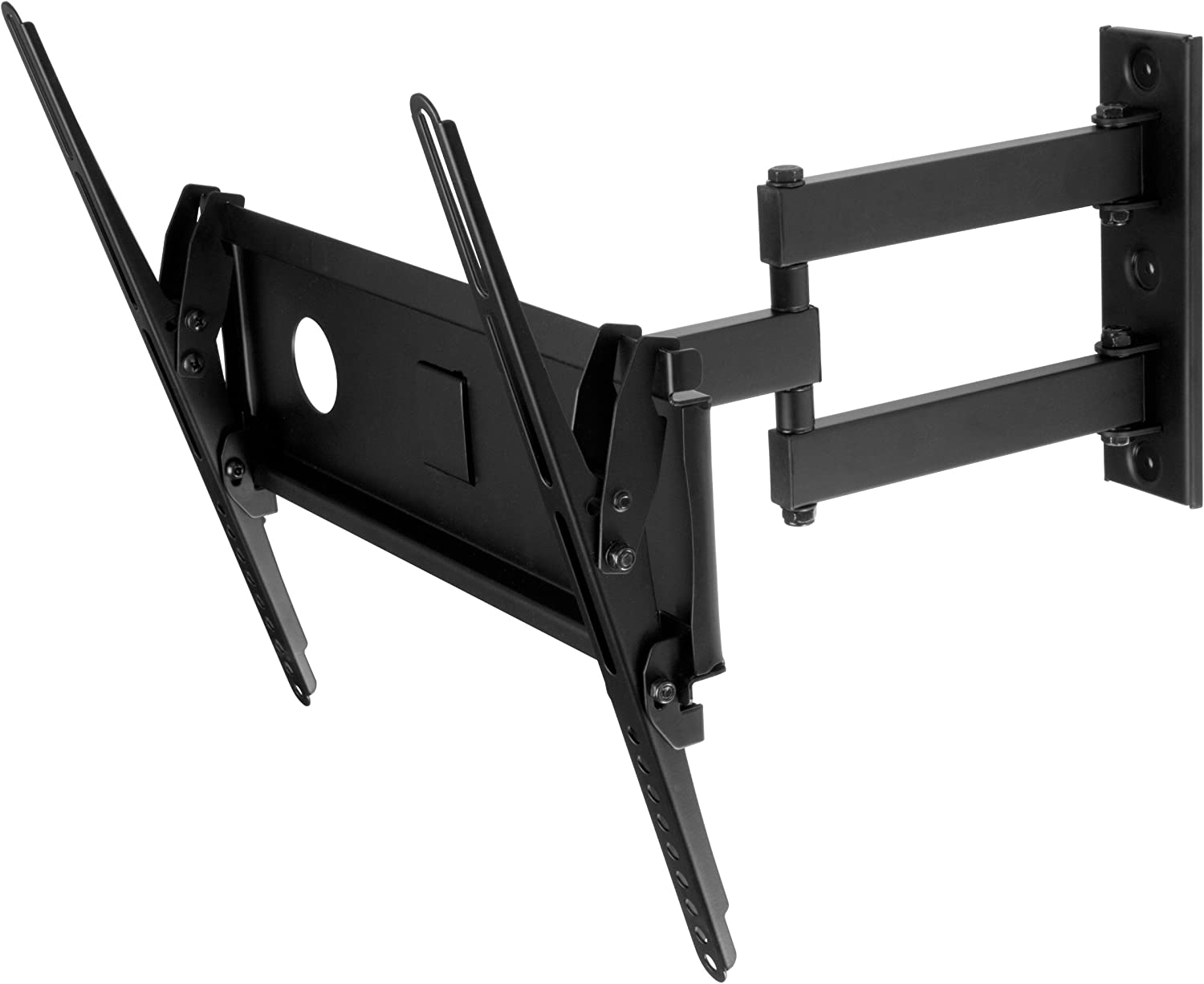 Swift Mount SWIFT440-AP Multi Position TV Wall Mount for 26-inch to 55-inch TVs,Black