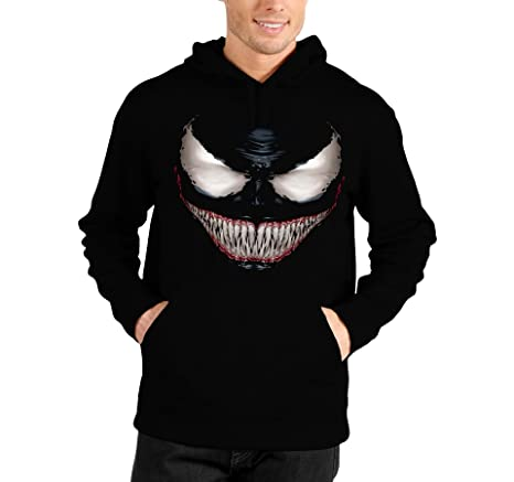 In Cappuccio Con Cartoon Felpa Bubbleshirt Venom Spiderman YgBxqw