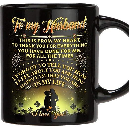 Tazas regalo para marido - 11 oz café de cerámica novedoso ...