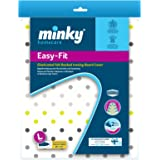 Minky Easy Fit Ironing Board Cover  - 122 x 38 cm,Multicolor