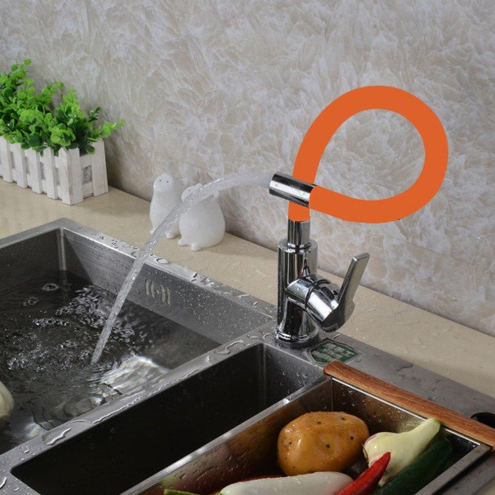 Zantec robinet en cuivre Corps de vanne nimporte quelle direction de cuisine robinet froide et eau chaude Mitigeur Robinet deau