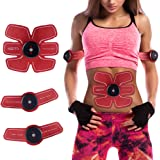 Silait 腹筋トレーナー 筋肉刺激 筋肉トナー トーニングベルト 腹筋トレーナー腕トレーナー 腕トリマーベルト EMSトレニンーグ装置 スマートホームフィットネス器具 男女両用