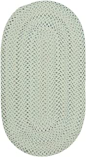 """product image for Capel Vivid Eggshell 11' 4"""" x 14' 4"""" Oval Braided Rug"""