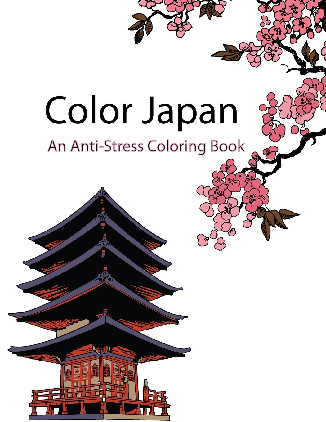 Color Japan Therapy An Anti Stress Coloring Book Star Books De Artist 9781518646577 Amazon