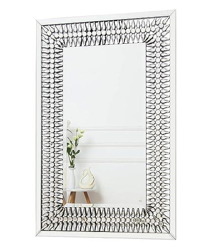 RICHTOP Grande Specchio da Parete Moderno Design Elegante con ...