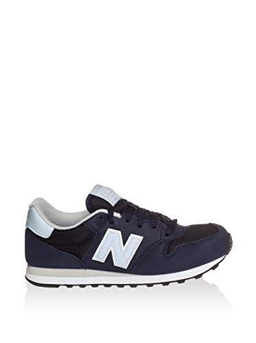 500, Baskets Femme, Bleu (Navy/Light Blue Pt), 35 EUNew Balance